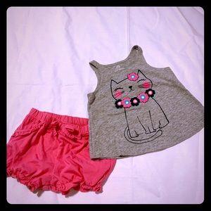 Okie Dokie baby girl pajama set
